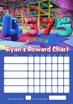 Personalised Numberjacks Reward Chart (adding photo option available)
